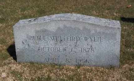 MULFORD, BELLE - Suffolk County, New York   BELLE MULFORD - New York Gravestone Photos