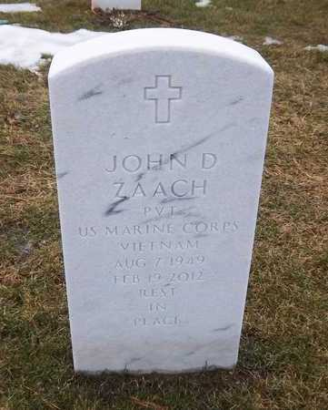 ZAACH, JOHN D. - Suffolk County, New York | JOHN D. ZAACH - New York Gravestone Photos
