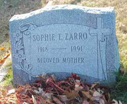 ZARRO, SOPHIE T - Suffolk County, New York | SOPHIE T ZARRO - New York Gravestone Photos