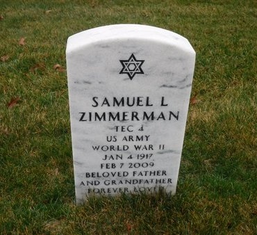 ZIMMERMAN (WWII), SAMUEL L - Suffolk County, New York | SAMUEL L ZIMMERMAN (WWII) - New York Gravestone Photos