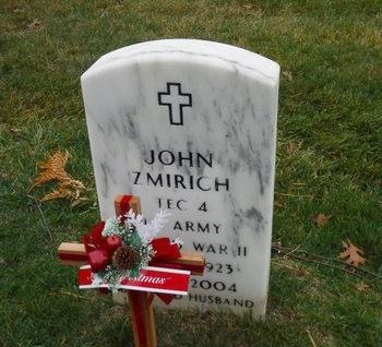 ZMIRICH (WWII), JOHN - Suffolk County, New York | JOHN ZMIRICH (WWII) - New York Gravestone Photos