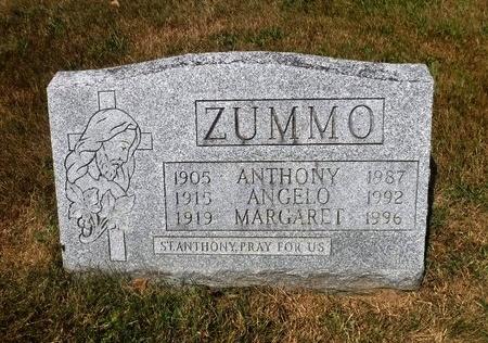 ZUMMO, MARGARET - Suffolk County, New York | MARGARET ZUMMO - New York Gravestone Photos