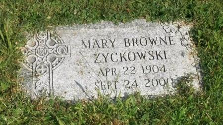 BROWNE, MARY - Suffolk County, New York | MARY BROWNE - New York Gravestone Photos