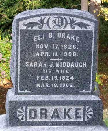DRAKE, SARAH J. - Tioga County, New York | SARAH J. DRAKE - New York Gravestone Photos