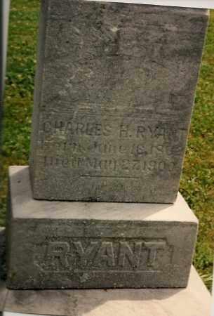 RYANT, CHARLES HARRIS - Tioga County, New York | CHARLES HARRIS RYANT - New York Gravestone Photos