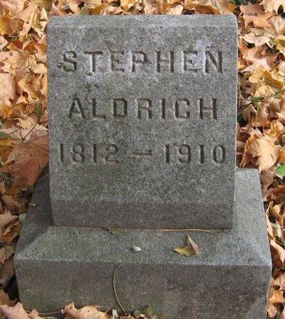ALDRICH, STEPHEN - Tompkins County, New York   STEPHEN ALDRICH - New York Gravestone Photos
