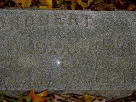 ALEXANDER, ROBERT - Tompkins County, New York | ROBERT ALEXANDER - New York Gravestone Photos
