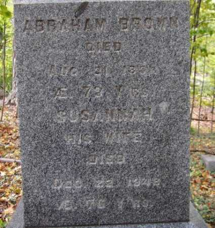 BROWN, SUSANNAH - Tompkins County, New York | SUSANNAH BROWN - New York Gravestone Photos