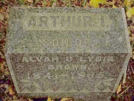 BROWN, ARTHUR I. - Tompkins County, New York | ARTHUR I. BROWN - New York Gravestone Photos
