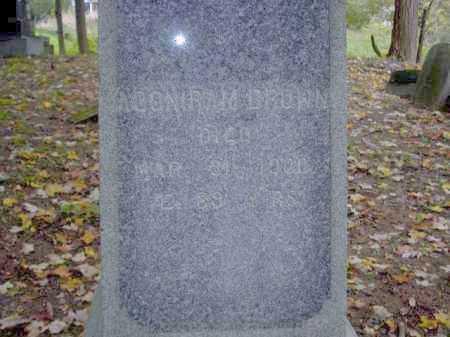 BROWN, ADONIRUM - Tompkins County, New York   ADONIRUM BROWN - New York Gravestone Photos