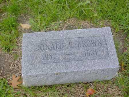 BROWN, DONALD - Tompkins County, New York   DONALD BROWN - New York Gravestone Photos
