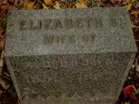 SMITH, ELIZABETH - Tompkins County, New York | ELIZABETH SMITH - New York Gravestone Photos