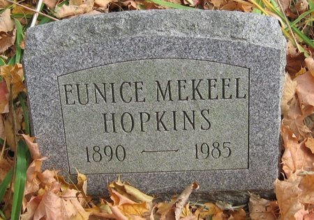 HOPKINS, EUNICE - Tompkins County, New York | EUNICE HOPKINS - New York Gravestone Photos