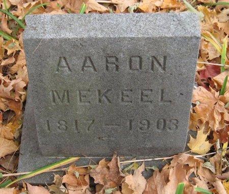 MEKEEL, AARON - Tompkins County, New York   AARON MEKEEL - New York Gravestone Photos