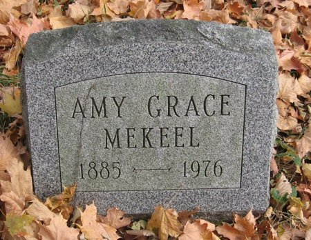 MEKEEL, AMY GRACE - Tompkins County, New York | AMY GRACE MEKEEL - New York Gravestone Photos