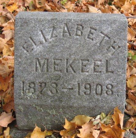 MEKEEL, ELIZABETH - Tompkins County, New York | ELIZABETH MEKEEL - New York Gravestone Photos