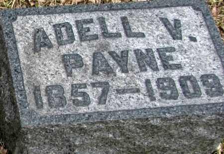PAYNE, ADELL - Tompkins County, New York   ADELL PAYNE - New York Gravestone Photos