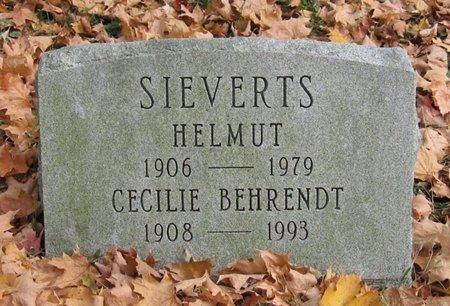 SIEVERTS, CECILIE BEHRENDT - Tompkins County, New York | CECILIE BEHRENDT SIEVERTS - New York Gravestone Photos