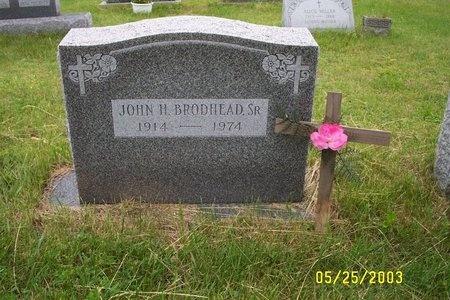 BROADHEAD, JOHN H, SR - Ulster County, New York | JOHN H, SR BROADHEAD - New York Gravestone Photos
