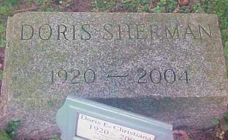 SHERMAN, DORIS E - Ulster County, New York | DORIS E SHERMAN - New York Gravestone Photos