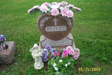 PETERS, JULIANNA - Ulster County, New York | JULIANNA PETERS - New York Gravestone Photos