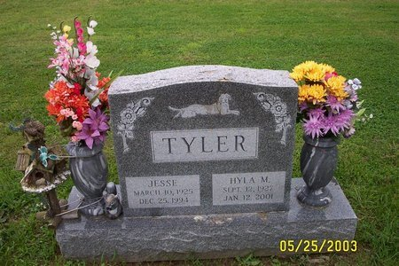 BURDET TYLER, HYLA M - Ulster County, New York | HYLA M BURDET TYLER - New York Gravestone Photos