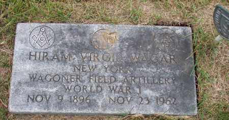 WAGAR, HIRAM VIRGIL - Ulster County, New York | HIRAM VIRGIL WAGAR - New York Gravestone Photos