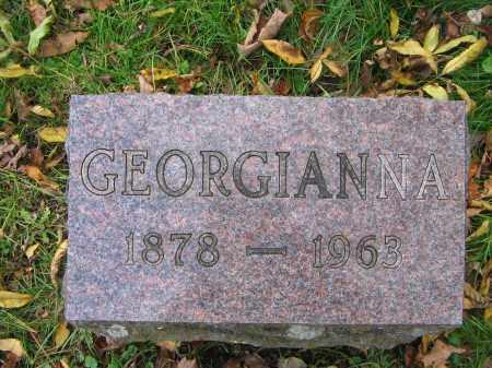 WHITE, GEORGIANNA M. - Ulster County, New York | GEORGIANNA M. WHITE - New York Gravestone Photos