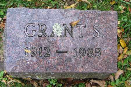 WHITE, GRANT S. - Ulster County, New York | GRANT S. WHITE - New York Gravestone Photos