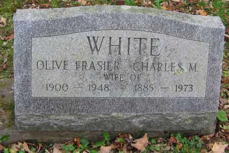 FRASIER WHITE, OLIVE - Ulster County, New York | OLIVE FRASIER WHITE - New York Gravestone Photos