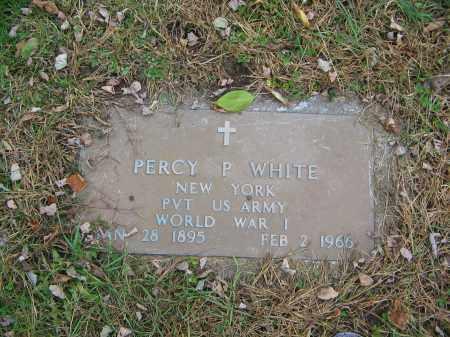 WHITE, PERCY P. - Ulster County, New York | PERCY P. WHITE - New York Gravestone Photos