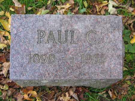 WHITE, PAUL C. - Ulster County, New York   PAUL C. WHITE - New York Gravestone Photos