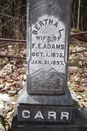 ADAMS, BERTHA L - Warren County, New York | BERTHA L ADAMS - New York Gravestone Photos