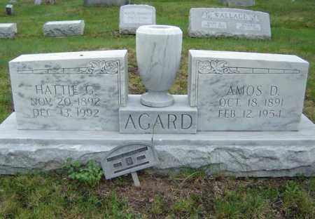 AGARD, HATTIE G - Warren County, New York | HATTIE G AGARD - New York Gravestone Photos