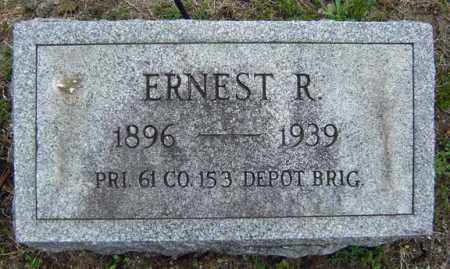 AGARD (WWI), ERNEST R - Warren County, New York | ERNEST R AGARD (WWI) - New York Gravestone Photos