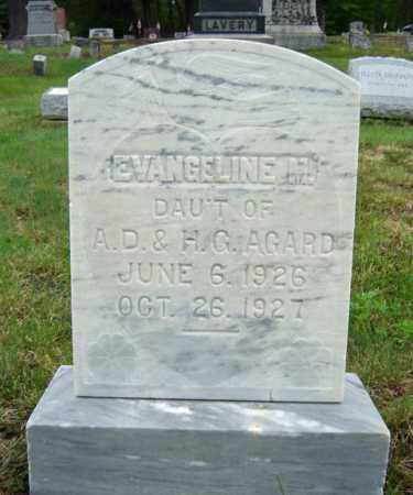 AGARD, EVANGELINE M - Warren County, New York | EVANGELINE M AGARD - New York Gravestone Photos