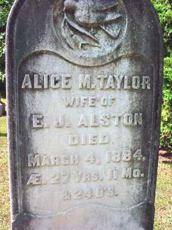 TAYLOR, ALICE M - Warren County, New York | ALICE M TAYLOR - New York Gravestone Photos