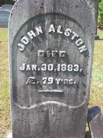 ALSTON, JOHN - Warren County, New York | JOHN ALSTON - New York Gravestone Photos