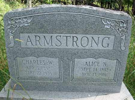 ARMSTRONG, CHARLES W - Warren County, New York | CHARLES W ARMSTRONG - New York Gravestone Photos