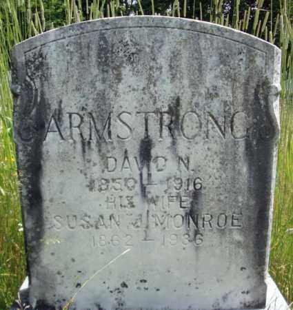 MONROE ARMSTRONG, SUSAN J - Warren County, New York | SUSAN J MONROE ARMSTRONG - New York Gravestone Photos