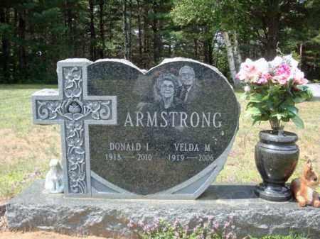 ARMSTRONG, VELDA M - Warren County, New York | VELDA M ARMSTRONG - New York Gravestone Photos