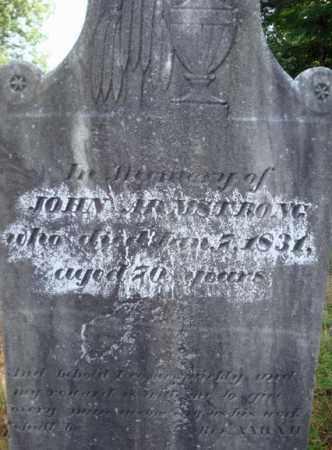 ARMSTRONG, JOHN - Warren County, New York | JOHN ARMSTRONG - New York Gravestone Photos