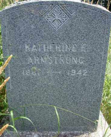 ARMSTRONG, KATHERINE E - Warren County, New York | KATHERINE E ARMSTRONG - New York Gravestone Photos