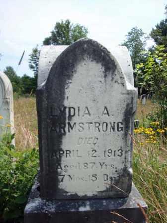 ARMSTRONG, LYDIA A - Warren County, New York | LYDIA A ARMSTRONG - New York Gravestone Photos