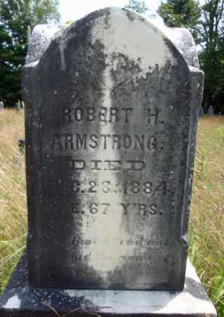 ARMSTRONG, ROBERT H - Warren County, New York   ROBERT H ARMSTRONG - New York Gravestone Photos