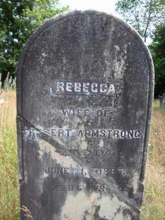 ARMSTRONG, REBECCA - Warren County, New York | REBECCA ARMSTRONG - New York Gravestone Photos