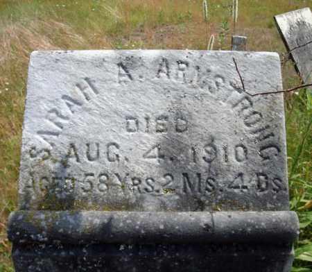 ARMSTRONG, SARAH A - Warren County, New York | SARAH A ARMSTRONG - New York Gravestone Photos