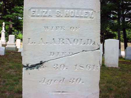 HOLLEY ARNOLD, ELIZA S - Warren County, New York | ELIZA S HOLLEY ARNOLD - New York Gravestone Photos