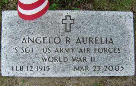AURELIA, ANGELO R - Warren County, New York | ANGELO R AURELIA - New York Gravestone Photos