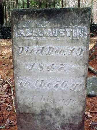 AUSTIN, ABEL - Warren County, New York   ABEL AUSTIN - New York Gravestone Photos